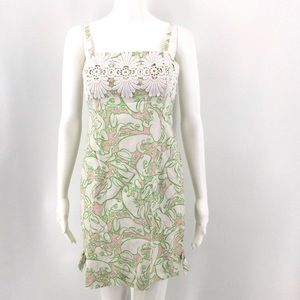 LILLY PULITZER Bel Air Lilly's Pad Frog Shift